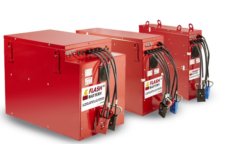 Batterie al litio Flash Battery