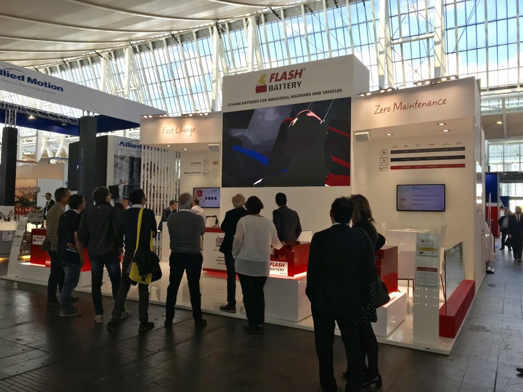 Flash Battery Team at CeMAT