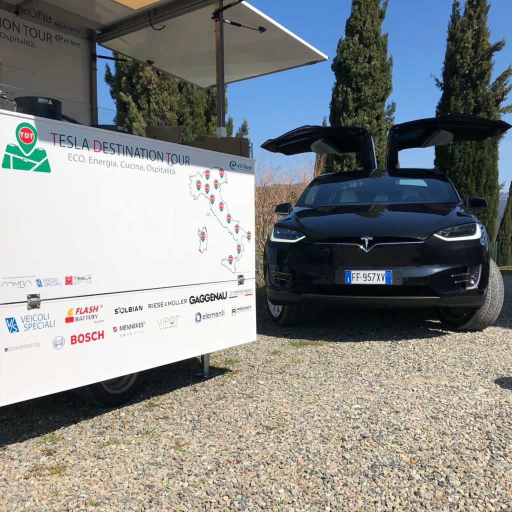 Flash Battery- Tesla Destination Tour