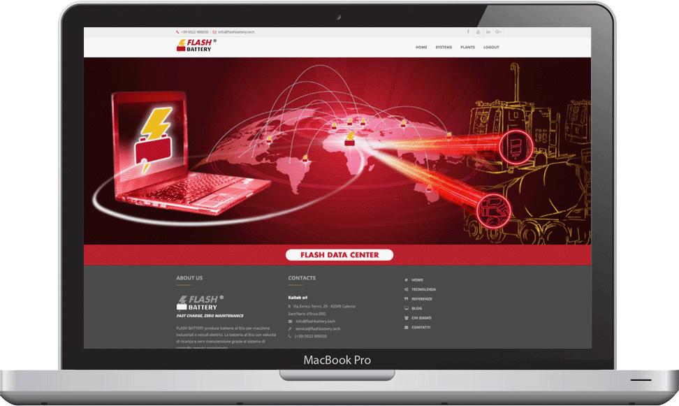 Flash Battery Data Center