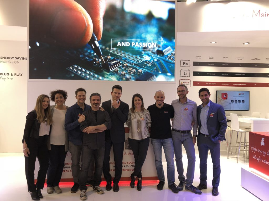 Flash Battery Team at SPS IPC Drives