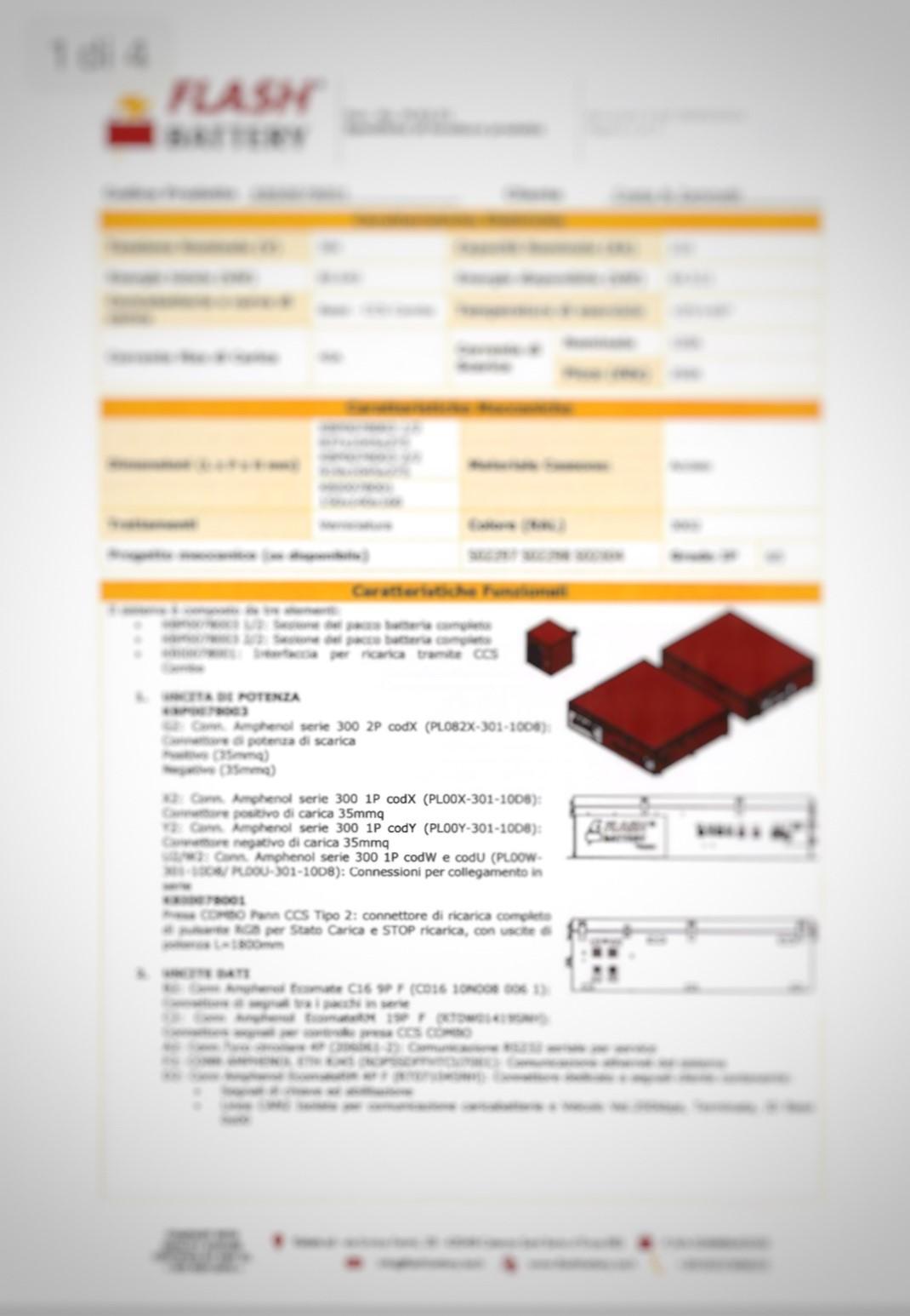 fascicolo tecnico progetto pacco batterie litio