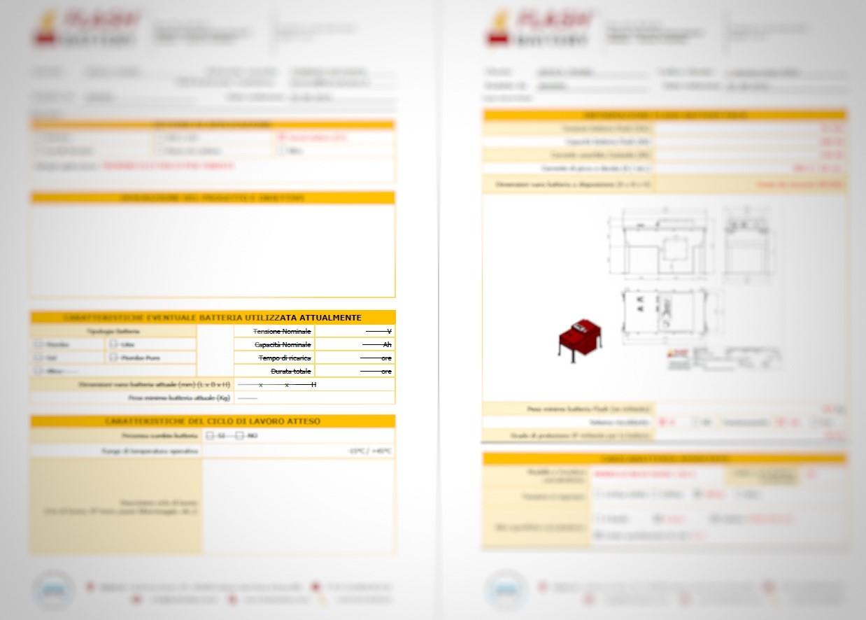 richiesta info batteria litio personalizzata