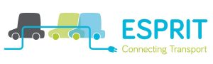 Autopartage électrique d'ESPRIT et lithium