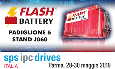 Flash Battery ipc drives sps parma