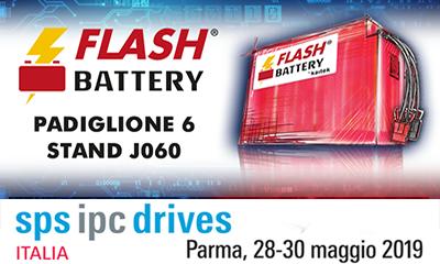 Flash Battery ipc drives sps parma