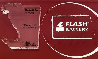 Deloitte Best Managed Company Flash Batter