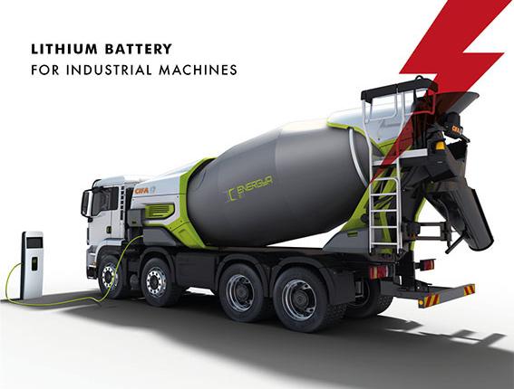 batterie litio macchine industriali Flash Battery