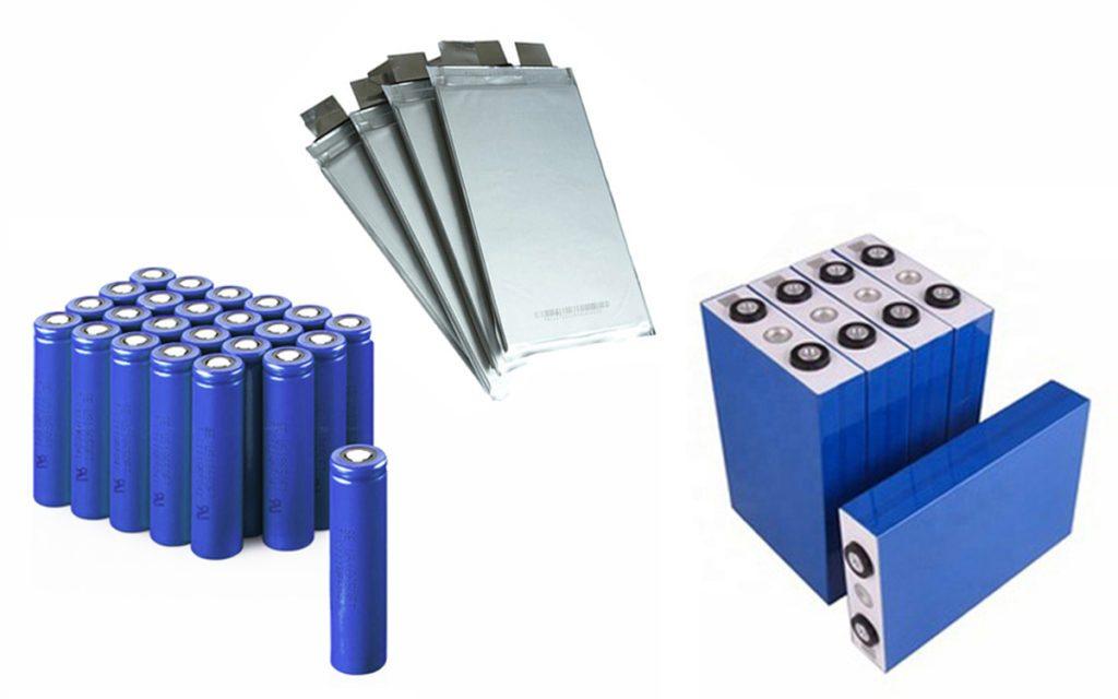 tipologie di celle al litio per batterie