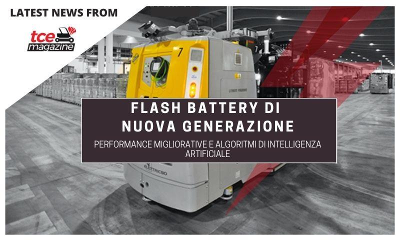 TCE Flash Battery nuova generazione 27 02 2020