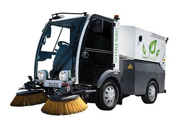 electric street sweeper by dulevo