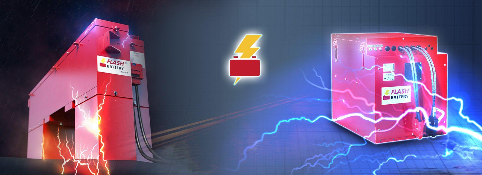 produzione batteria al litio flash battery