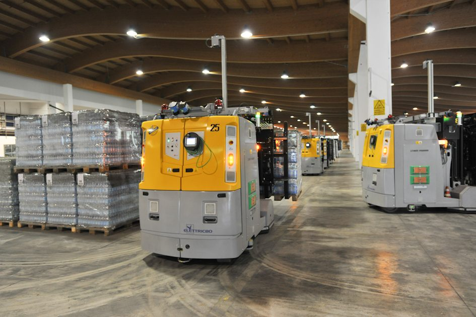 elettric80 LGV and AGV with lithium batteries