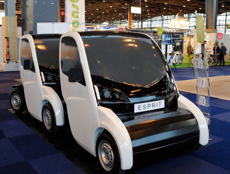 esprit electric car sharing with lithium