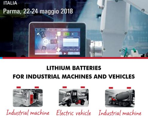 Batterie au lithium industrielle à charge rapide