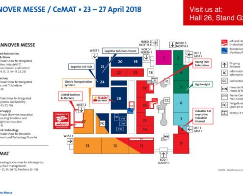 cemat hannover 2018 e flash battery