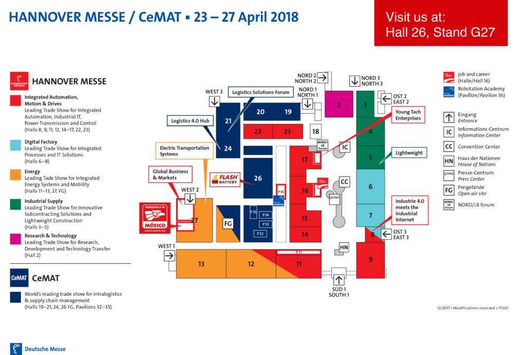 flash battery auf der cemat hannover 2018