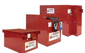 batteria al litio flash battery