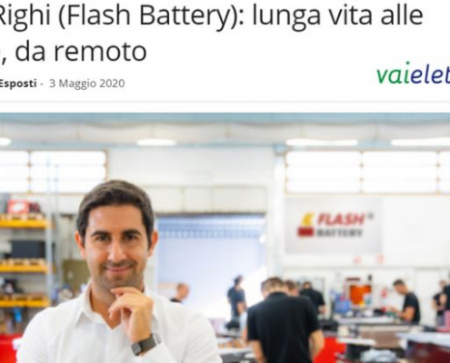 05-2020 Vai Elettrico Flash Battery interview