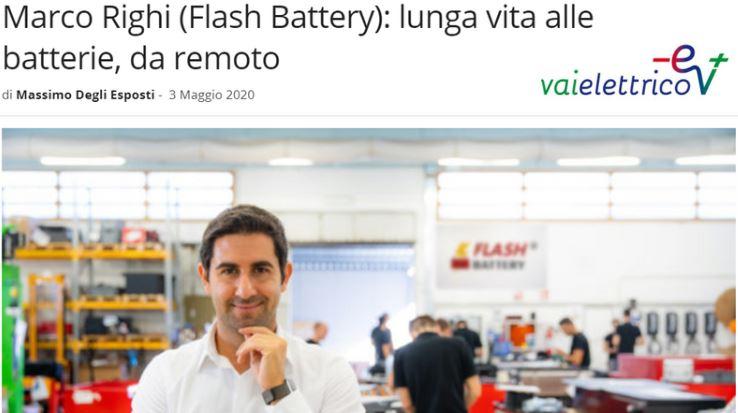 05-2020 Vai Elettrico Flash Battery interview