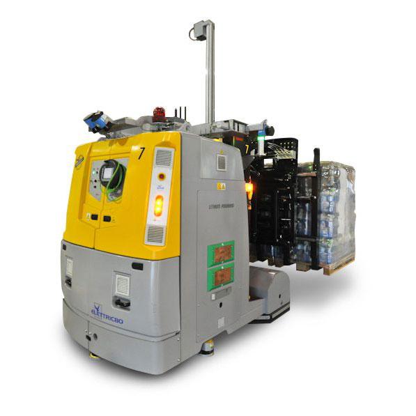 lithium-batterien fur AGVs und LGVs