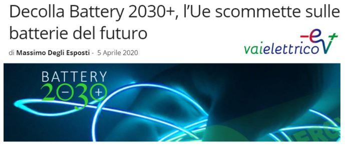 batterie del futuro 2030