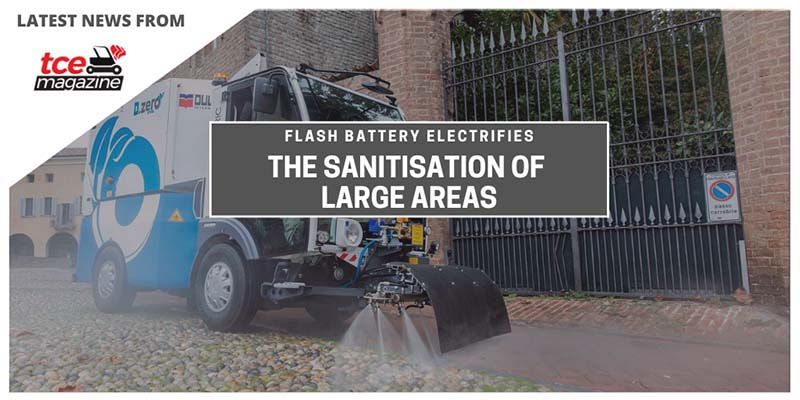 tce flash battery electrifies dulevo street washer
