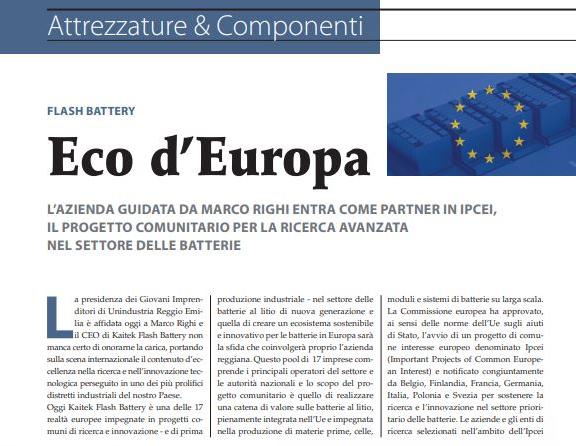flashbattery eco europa sollevare