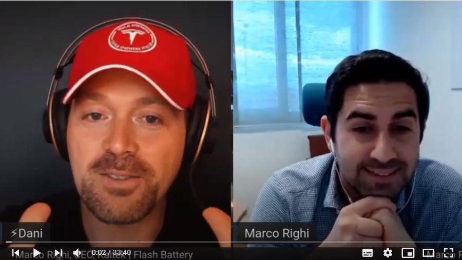 Entretien sur lithium avec Marco Righi