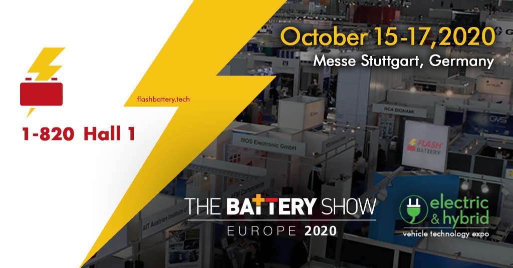the battery show banner