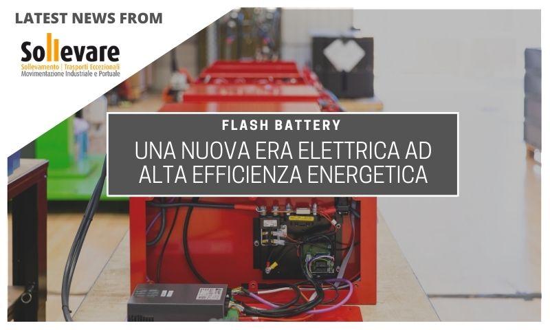 Flash Battery nuova era elettrica alta efficienza energetica