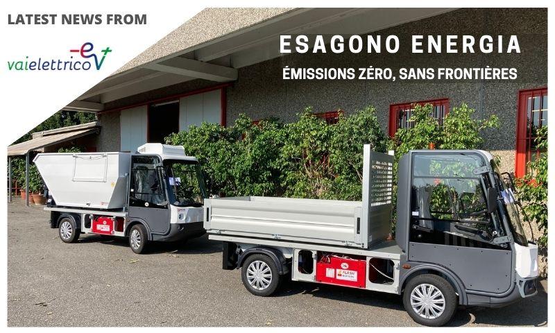 Vai Elettrico Flash Battery Esagono Energia emissions zero sans frontieres