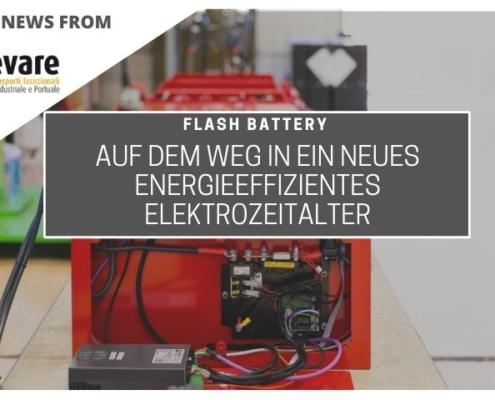 Sollevare Flash Battery energieeffizientes Elektrozeitalter