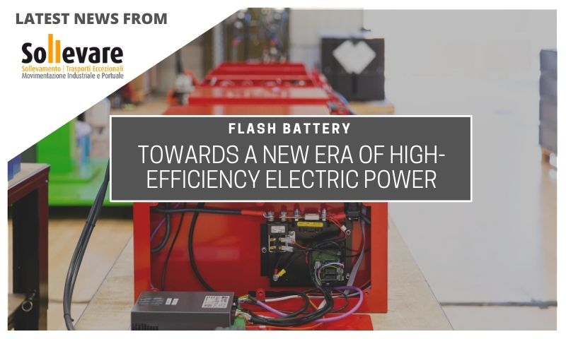 Sollevare Flash Battery new era high efficiency electric power