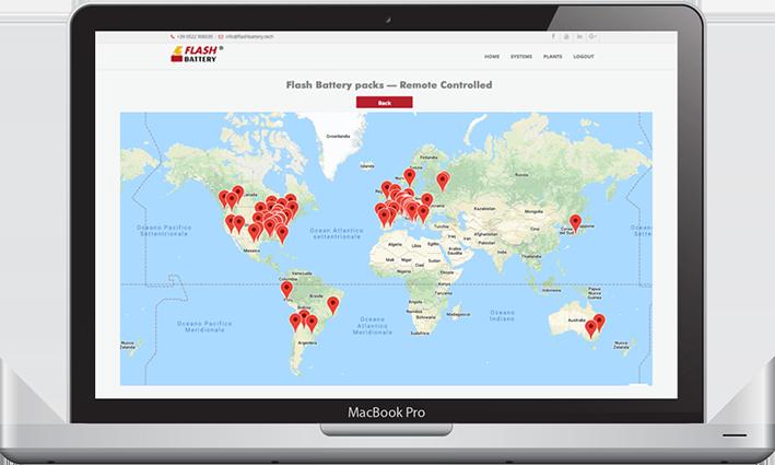 2019 carte monde Flash Battery