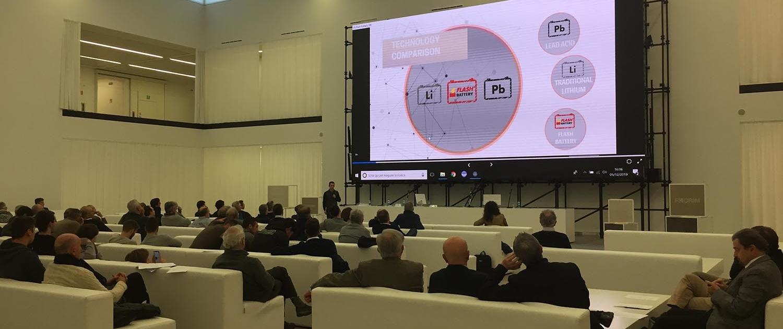 Flash Battery Seminar Elektrofahrzeuge Florim technologie lithium