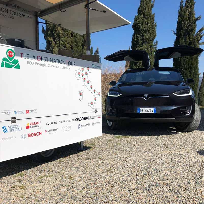 Flash Battery Tesla Destination Tour