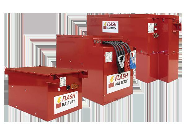 Flash Battery Batterie al litio