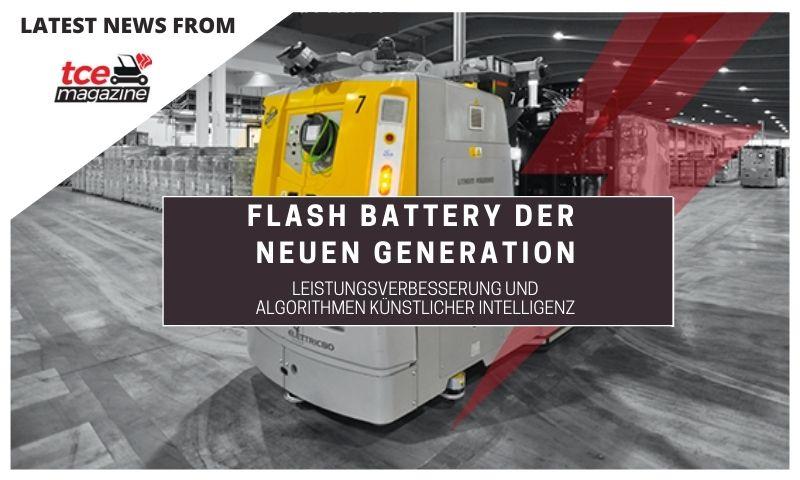 TCE Flash Battery der neuen generation 27 02 2020