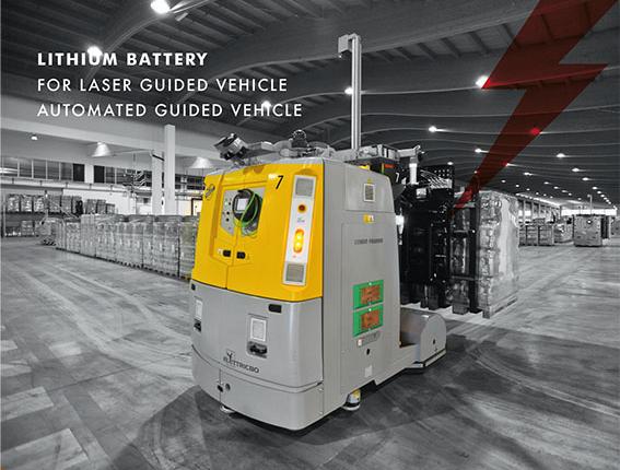 batteries lithium lgv agv flash battery
