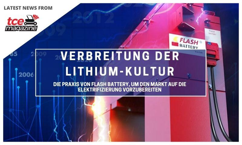 tce Verbreitung der Lithium-Kultur Die Praxis von Flash Battery