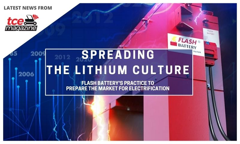TCE: spreading lithium culture, Flash Battery practice