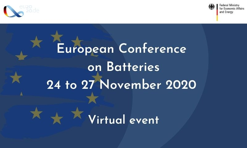 European Conference on Batteries 2020