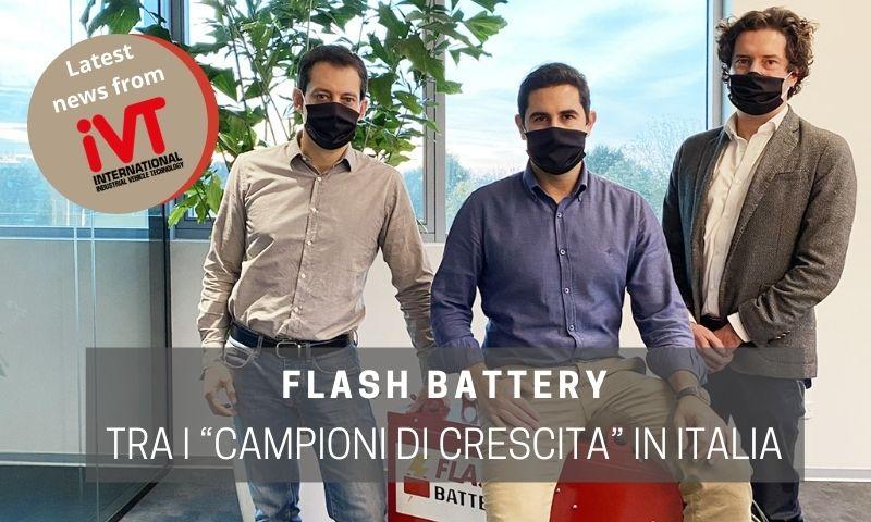 ivt flash battery premio campioni crescita italia