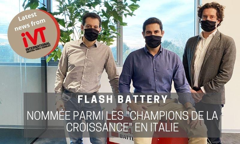 ivt Flash Battery nommée Champion de la croissance