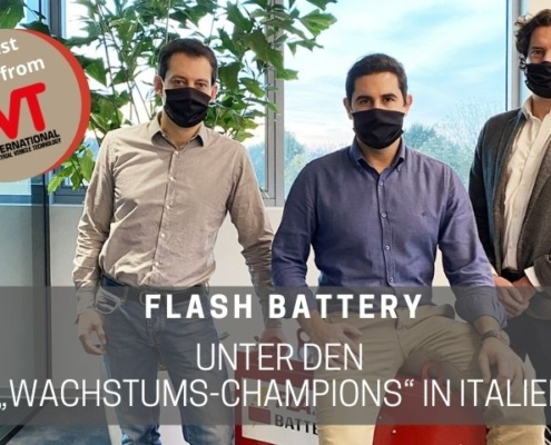 Flash Batteryunter den Wachstums-Champions in Italien