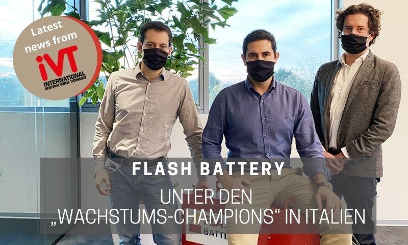 Flash Batteryunter den Wachstums-Champions in Italien
