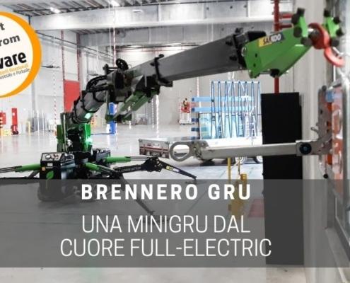sollevare la minigru elettrica di Brennero Gru
