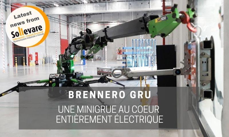 sollevare minigrue electrique de Brennero Gru