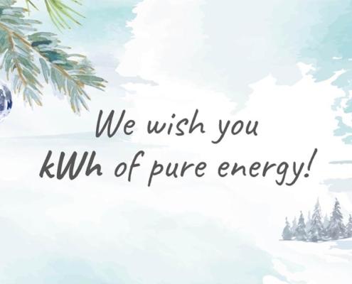 Christmas greetings Flash Battery 2020